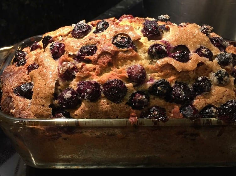 Banana and Blueberry Sour Cream Quick Bread – Recipe