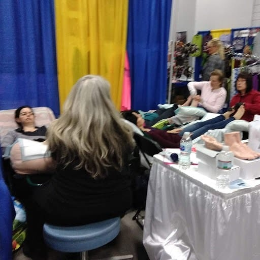 Thank you everyone who came to visit me at booth 402 at the natural living expo this year in Marlborough. My colleagues and I gave about 100 mini reflexology sessions in two days. We are tired. #healing #energyhealing #bewell #chakras #positivity #ENERGY #mindbodyspirit #selfhealing #holistic #highvibelife #reiki #health #donthatemeditate #belight #energyhealers #beintheflow #energymedicine #breaknegativity #mindfulness #getintouch