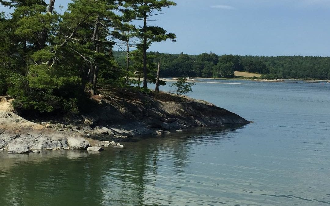 Life is very quiet in #Maine. Many good places for sitting and pondering. #meditation