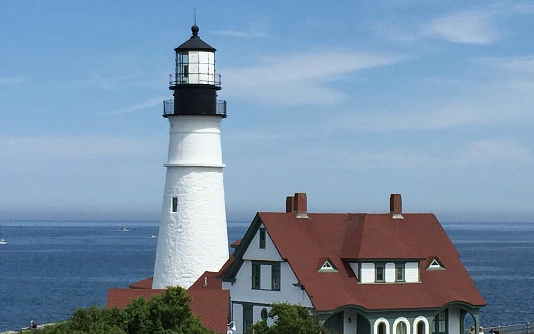 #lighthouse in st Elizabeth #maine