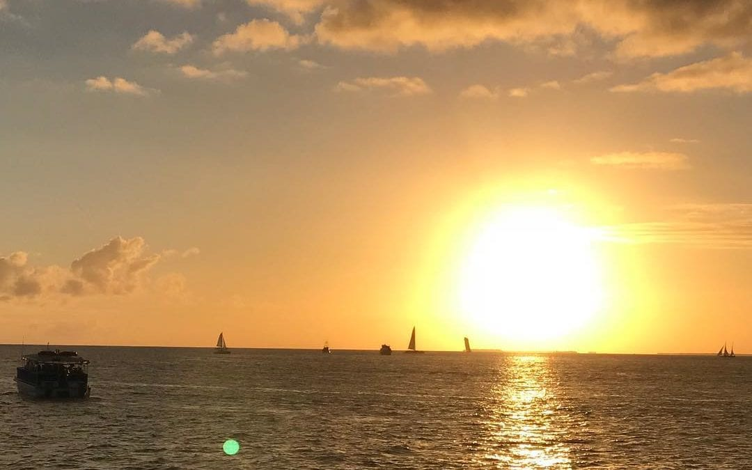 #sunset in #keywest