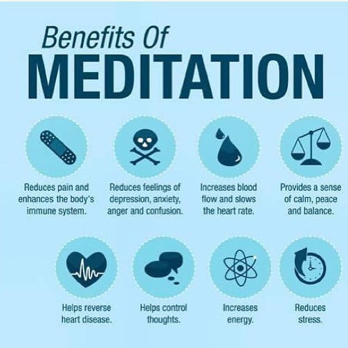 I love to #meditate #meditation #benefits