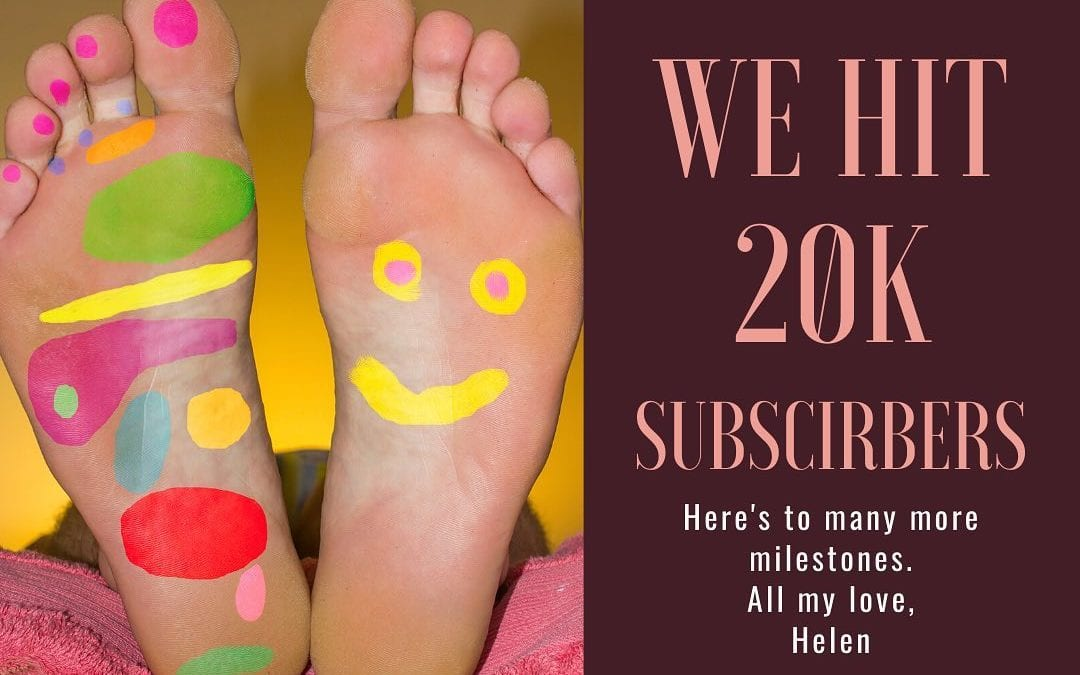 Happiness is celebrating milestones like hitting 20k #YouTube subscribers!! If you do not subscribe already, visit my YouTube channel and see what the hype is about! #reflexology #reiki #reikihealing #reikipractitioner #reikimaster #meditation https://m.youtube.com/user/reflexologyhealing